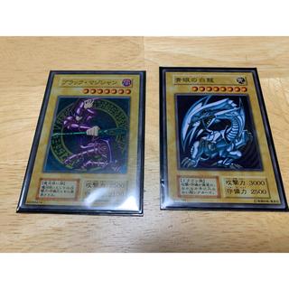 コナミ(KONAMI)のブルーアイズ  ブラックマジシャン ステンレス(シングルカード)