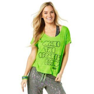 ズンバ(Zumba)の今日だけセールZumba ズンバTシャツ XS Sale(Tシャツ(半袖/袖なし))