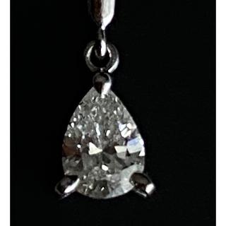 ミキモト(MIKIMOTO)のミキモト ダイヤモンド ネックレス プラチナ 証明書あり(ネックレス)