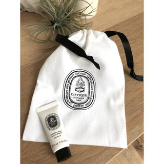 ディプティック(diptyque)のディプティック 巾着 ポーチ クリームセット(ポーチ)