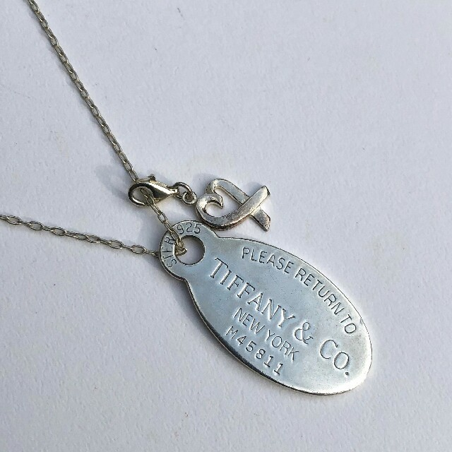 Tiffany & Co.(ティファニー)のティファニー リターントゥタグ ネックレス② メンズのアクセサリー(ネックレス)の商品写真