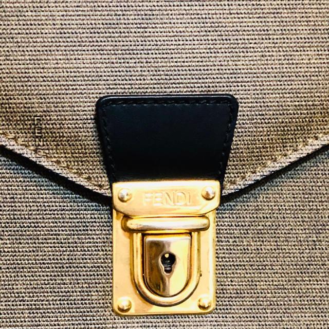 FENDI(フェンディ)のFENDIフェンディ ビジネスバッグ クラッチタイプ メンズのバッグ(セカンドバッグ/クラッチバッグ)の商品写真