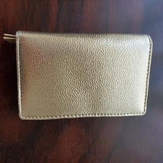 レプシィム(LEPSIM)のLEPSIM ゴールド 二つ降り 財布(折り財布)