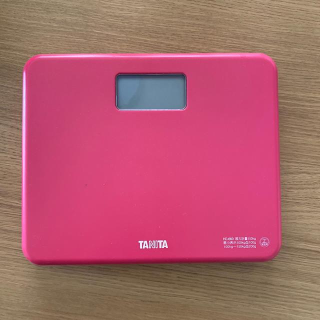 TANITA(タニタ)のTANITA*体重計 スマホ/家電/カメラの生活家電(体重計)の商品写真