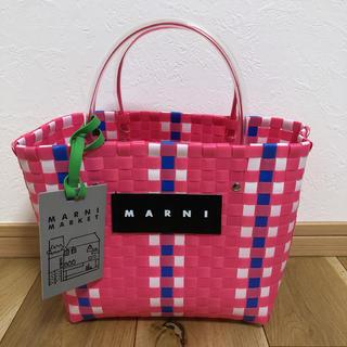 マルニ(Marni)のMARNI ピクニックバッグ マルニフラワーカフェ(かごバッグ/ストローバッグ)