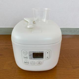 ムジルシリョウヒン(MUJI (無印良品))の無印良品 炊飯器 3合炊き(炊飯器)