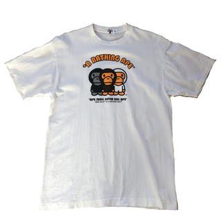 A BATHING APE - アベイシング エイプ ベイビー マイロ Tシャツ プリント ストリート系 古着