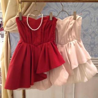 リリーブラウン(Lily Brown)のリリーブラウン  チュールフレアコルセットドレス(ミニドレス)