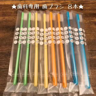 【人気】歯科専用歯ブラシ 8本セット♡ 《日本製》