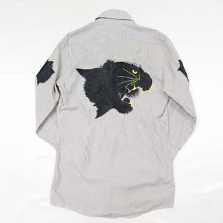 ドルチェアンドガッバーナ(DOLCE&GABBANA)のドルチェ&ガッバーナ タイガー シャツ 39 虎刺繍 ドルガバ スカジャン(シャツ)