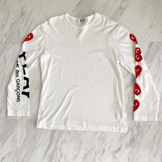 コムデギャルソン(COMME des GARCONS)のCDG コムデギャルソンPLAYロンT(Tシャツ/カットソー(七分/長袖))