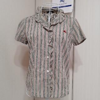 バーバリー(BURBERRY)の貴重 美品 バーバリーロンドン ブラウス(シャツ/ブラウス(半袖/袖なし))