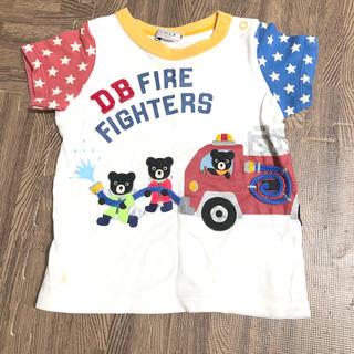 ダブルビー(DOUBLE.B)のミキハウス 90 Tシャツ(Tシャツ/カットソー)