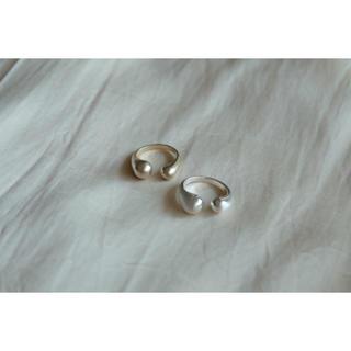 プラージュ(Plage)の○open ring○⦅silver⦆(リング(指輪))