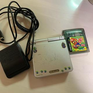 ゲームボーイアドバンス(ゲームボーイアドバンス)のゲームボーイアドバンス カセット付き(携帯用ゲーム機本体)