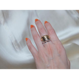 ロキエ(Lochie)の𓄲volume ring𓄲⦅gold⦆(リング(指輪))