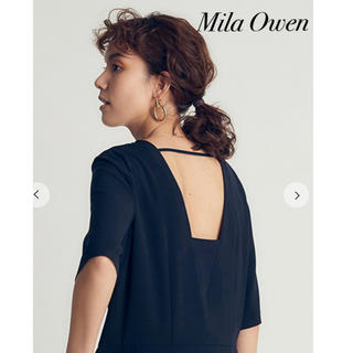 ミラオーウェン(Mila Owen)の美品MilaOwenミラオーウェン素敵な真鍮シルバーイヤリング(イヤリング)