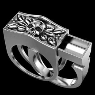 ドクロ 髑髏 盗賊 リング 指輪 アクセサリー(リング(指輪))