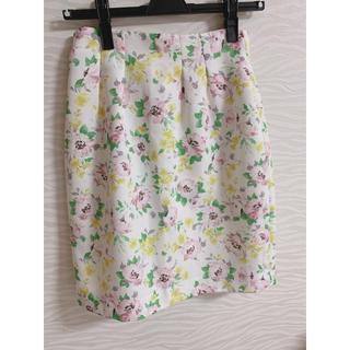 プロポーションボディドレッシング(PROPORTION BODY DRESSING)のスカート 花柄スカート プロポーションボディドレッシング(ひざ丈スカート)