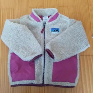 パタゴニア(patagonia)のパタゴニア レトロ キッズ 4T ピンク(ジャケット/上着)