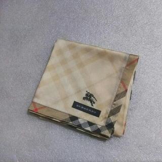 バーバリー(BURBERRY)の値下げ📌バーバリー☆大判ハンカチ54×54(ハンカチ)