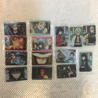 BANDAI - ② 鬼滅の刃 ウエハース カード 14枚