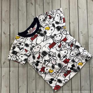 スヌーピー(SNOOPY)の夏物セール♡タキヒョー スヌーピー総柄Tシャツ 95センチ(Tシャツ/カットソー)