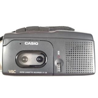 カシオ(CASIO)のCASIO カシオ マイクロカセット テープレコーダー TP-35(その他)