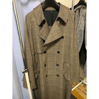 サンシー(SUNSEA)のstein 19AW LAY OVERSIZEDOVERLAP COAT コート(ステンカラーコート)