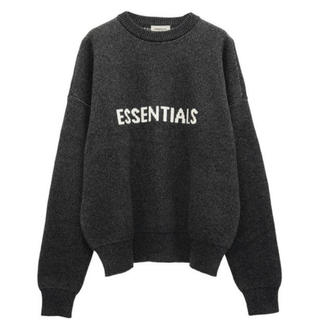 フィアオブゴッド(FEAR OF GOD)のXS FEAR OF GOD ESSENTIALS SWEATER LOGO(ニット/セーター)