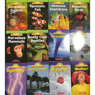 science vocabulary readers自然 英語勉強 英語絵本(洋書)