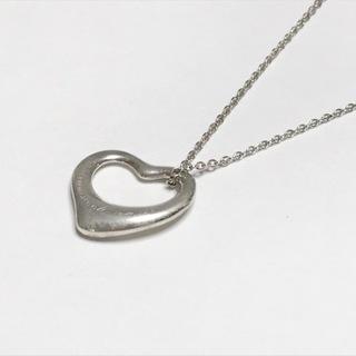 ティファニー(Tiffany & Co.)のティファニー ネックレス オープンハート(ネックレス)