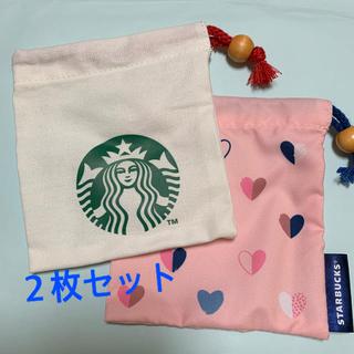 スターバックスコーヒー(Starbucks Coffee)のスターバックス ミニ巾着 2個(その他)
