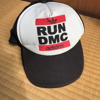 adidas - 激レア adidas Run DMC メッシュ キャップ ヴィンテージ