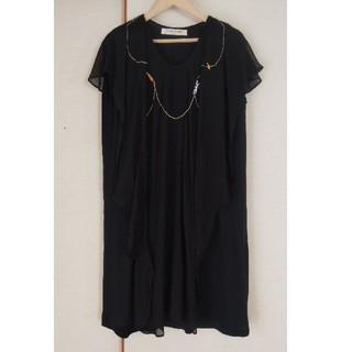 ツモリチサト(TSUMORI CHISATO)のTSUMORI CHISATO ドレス ワンピース(ひざ丈ワンピース)