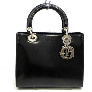 クリスチャンディオール(Christian Dior)のクリスチャンディオール ハンドバッグ 黒(ハンドバッグ)