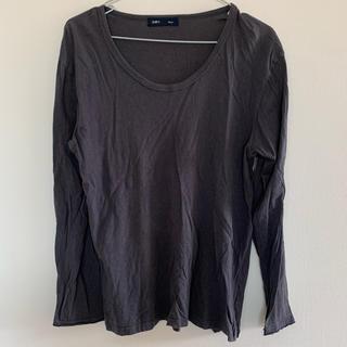 シップス(SHIPS)のシップス 長袖 カットソー  グレー(Tシャツ/カットソー(七分/長袖))