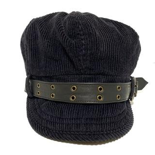 ディーゼル(DIESEL)のディーゼル 帽子 11 - 黒 帽子 (その他)(その他)