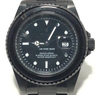 ジャムホームメイド 腕時計 メンズ 黒(その他)