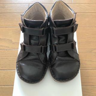 キャラメルベビー&チャイルド(Caramel baby&child )のpepe children  ダークブラウン shoes 25(その他)
