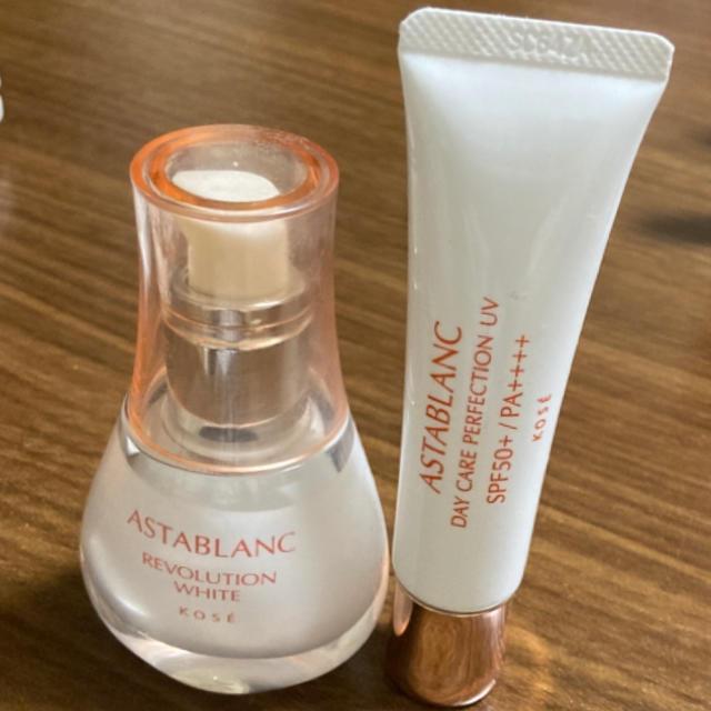ASTABLANC(アスタブラン)の【残量8割】ASTABLANC(美白美容液&美容乳液)セット コスメ/美容のスキンケア/基礎化粧品(美容液)の商品写真