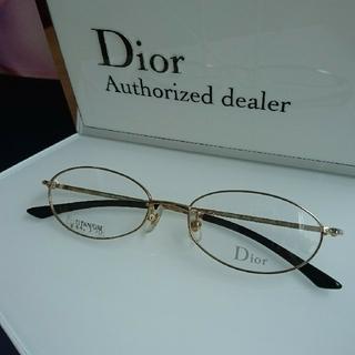 ディオール(Dior)のDior眼鏡7560ゴールド(サングラス/メガネ)