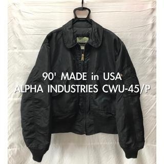 アルファインダストリーズ(ALPHA INDUSTRIES)の90' USA製 ALPHA INDUSTRIES CWU-45/P LARGE(フライトジャケット)