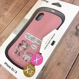 Disney - ミニー iPhoneX/Xs 兼用 ハイブリッドガラスケース DN579B