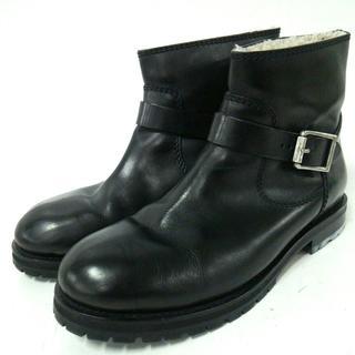 ジミーチュウ(JIMMY CHOO)のジミーチュウ ショートブーツ 44 メンズ 黒(ブーツ)