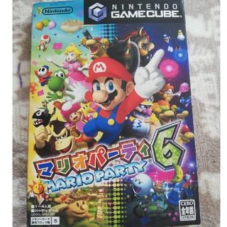 ニンテンドーゲームキューブ(ニンテンドーゲームキューブ)のマリオパーティ6 マイクセット(家庭用ゲームソフト)