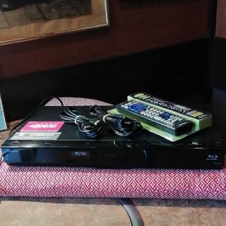 シャープ(SHARP)のSHARP AQUOS BD-S520 12倍録画 500GB リモ等付 訳あり(ブルーレイレコーダー)