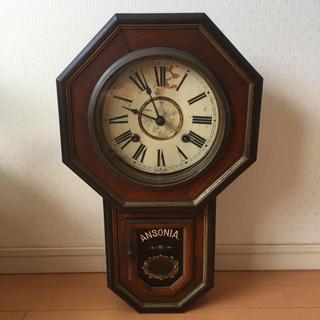 アンソニア 八角ゼンマイ振り子時計(掛時計/柱時計)