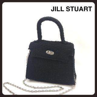 ジルスチュアート(JILLSTUART)のJILL STUART ハンドバッグ ブラック チェーン レディース(ハンドバッグ)