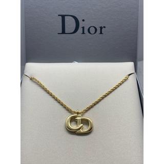 Christian Dior - 未使用 クリスチャンディオール CDロゴネックレス